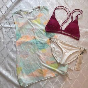 Victoria's Secret Split Side tie Top